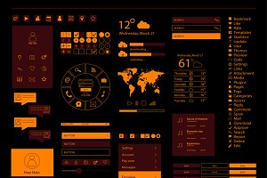 Mobile interface and web orange
