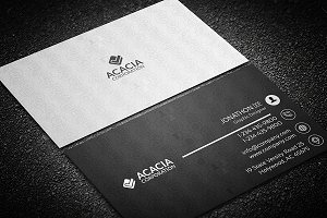 SocialIcon Business Card
