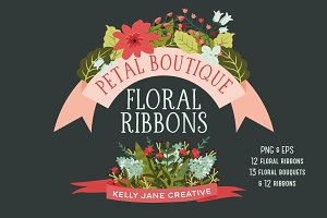 Floral Ribbons & Bouquets