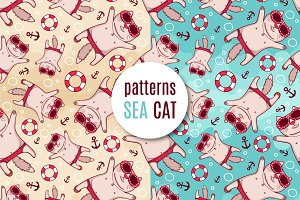"Patterns ""Sea cat"""