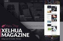 Xelhua Magazine - Tumblr Theme