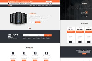 lilyHost | Responsive WHMCS Template