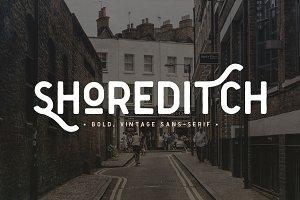 Shoreditch 2 Sans Serif Font