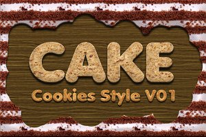 Cake Cookies Style Vol.1