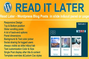 Read It Later - Wordpress Plugin