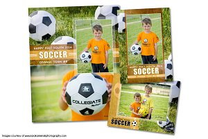 Soccer Memory Mate Template Pack A