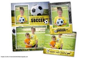 Soccer Memory Mate Template Pack B