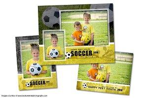 Soccer Memory Mate Template Pack C