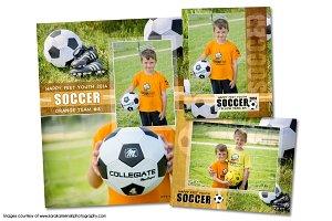 Soccer Memory Mate Template Pack D