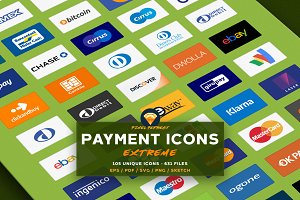 PAYMENT / CREDIT CARD VECTOR ICONS E