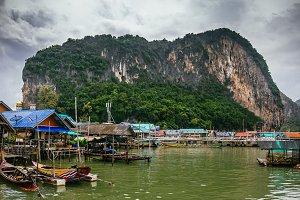 Phang Nga Bay, Krabi, Thailand.