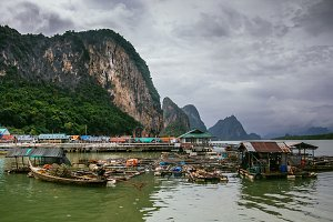 The Muslim Fishing Village, Thailand