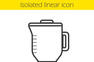 Blender linear icon. Vector