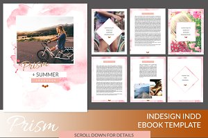 Prism InDesign Ebook Template