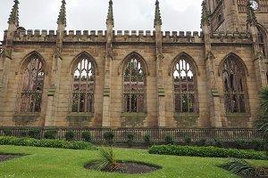 St Luke church in Liverpool