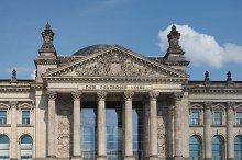Reichstag parliament in Berlin