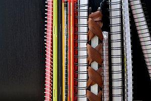 notebooks spiral wire