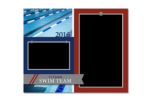 Swimming Memory Mate Template - MM3