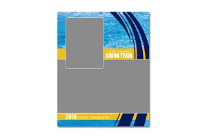 Swimming Memory Mate Template - MM2