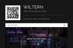 Wiltern - WordPress Portfolio & Blog