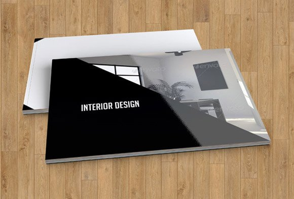 Interior Design Brochure TemplateV17