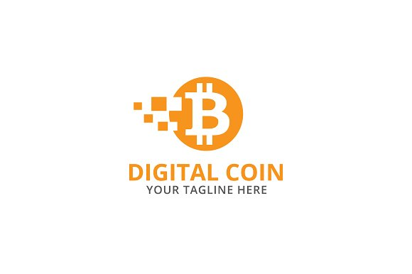 Digital Coin Logo Template ~ Logo Templates ~ Creative Market