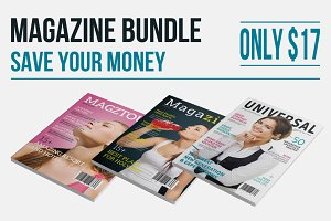 InDesign Magazine Bundle (Save 60%)