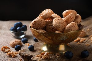 Italian almond cookie amaretti