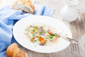 Mushtoom soup
