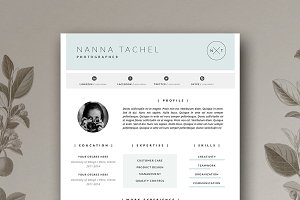 Simple Resume Design / CV Template