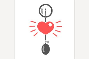 Blood Pressure Measuring Logo