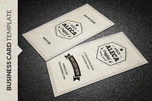 Kraft Paper Business Card Business Card Templates Creative Market - Business card template paper