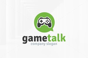Game Talk Logo Template