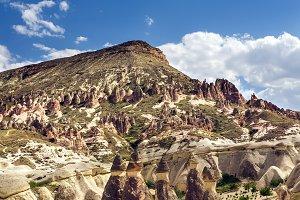 Landscape of Cappadocia region