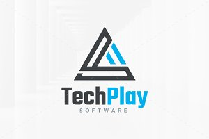 Tech Play - Triangle Logo