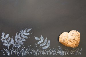 Love and passion for wholemeal bread