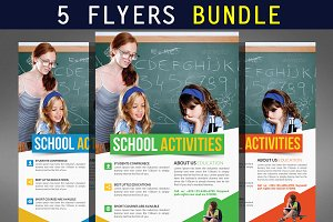 5 Creative Business Flyers Bundle