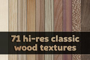 Classic wood veneer textures pack