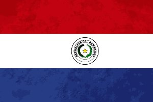 True proportions Paraguay flag
