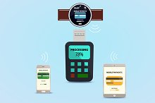 smart watches, phones and payments.