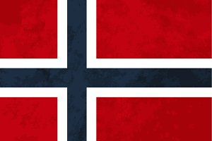 True proportions Norway flag