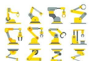 Robotic arm, industrial robot hands
