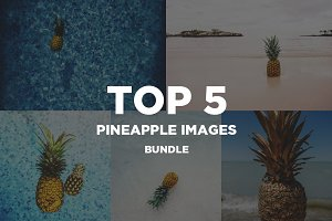 Top 5 Pineapple Image Bundle