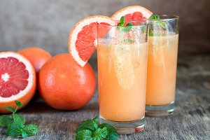 Grapefruit and Tequila Paloma