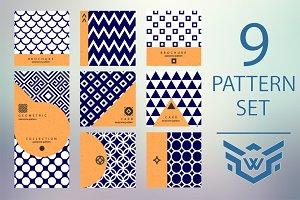 9 Geometric Pattern in Modern Style