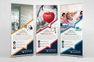 Multi Use Roll Up Banners Templates