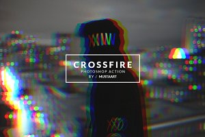 Crossfire - Photoshop Action