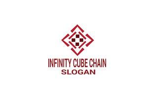 Infinity Cube Chain Logo