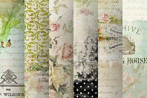 Neverland Chic Paper Collection