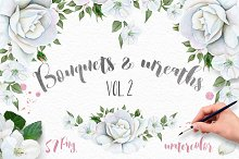Wreaths and Bouquets collection. V.2